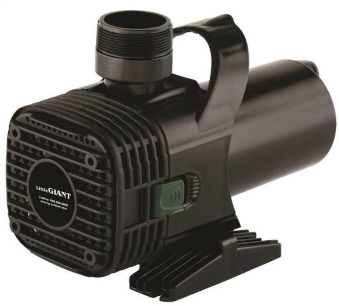 Little Giant 566727 (F40-5500) Wet Rotor Pond Pump, 5500GPH, 20'