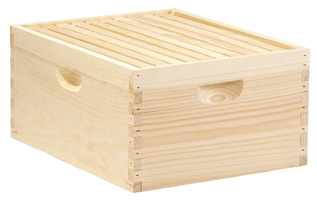 Little Giant DEEPBOX10 10-Frame Deep Hive Body For Bees, 9.5""