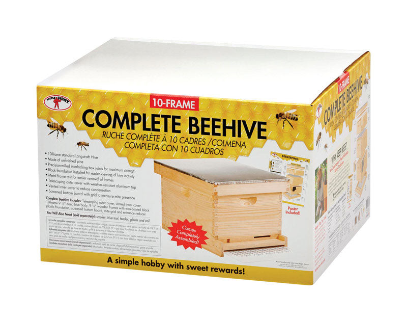 Little Giant HIVE10 10-frame Complete Bee Hive, 9.5