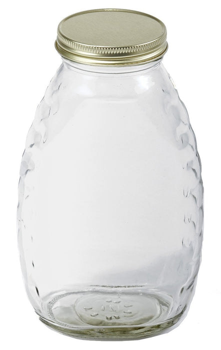 Little Giant HJAR16 Honey Jar For Bees, 16 Oz