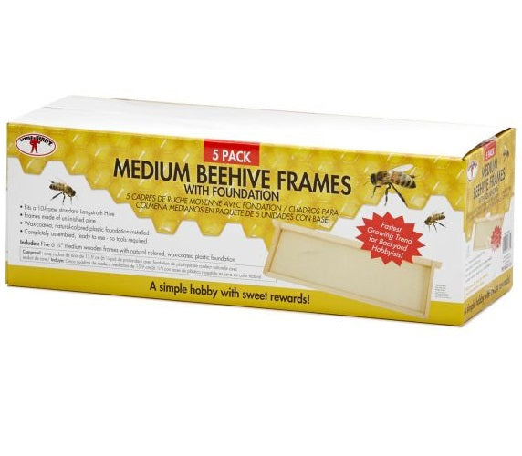 Little Giant MFRLITE Medium Hive Frames