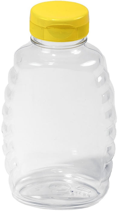 Little Giant SKEP16 Squeezable Honey Jar, 16 Oz