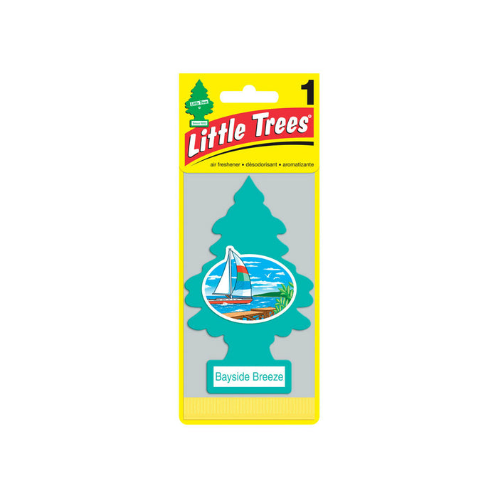 Little Trees U1P-17121 Car Air Freshener, Bayside Breeze