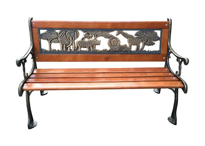 Fantastic Living Accents Cma2011 Childrens Outdoor Bench Bronze 32 W Bralicious Painted Fabric Chair Ideas Braliciousco