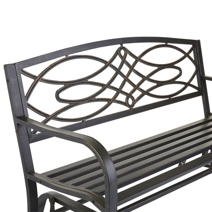 Buy living accents glider bench - Online store for outdoor living, gliders in USA, on sale, low price, discount deals, coupon code