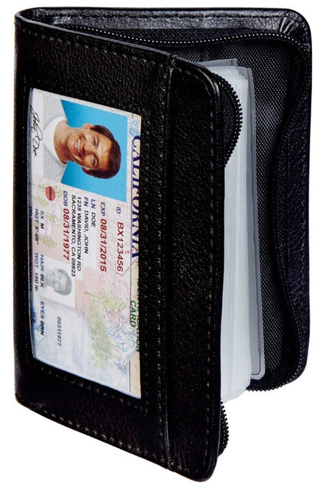 Lock Wallet LW-MC12/4 RFID Blocking Wallet, Black