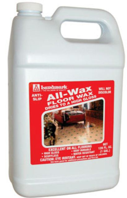 Lundmark Wax 3201G01-2 All Wax Anti-SLip Floor Wax, 1 Gallon