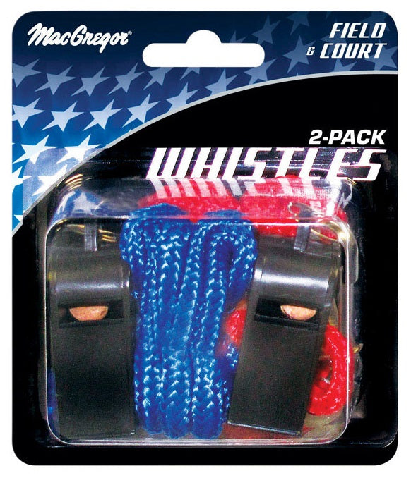 MacGregor 40-16137 Sport Whistle, PVC, Assorted Color