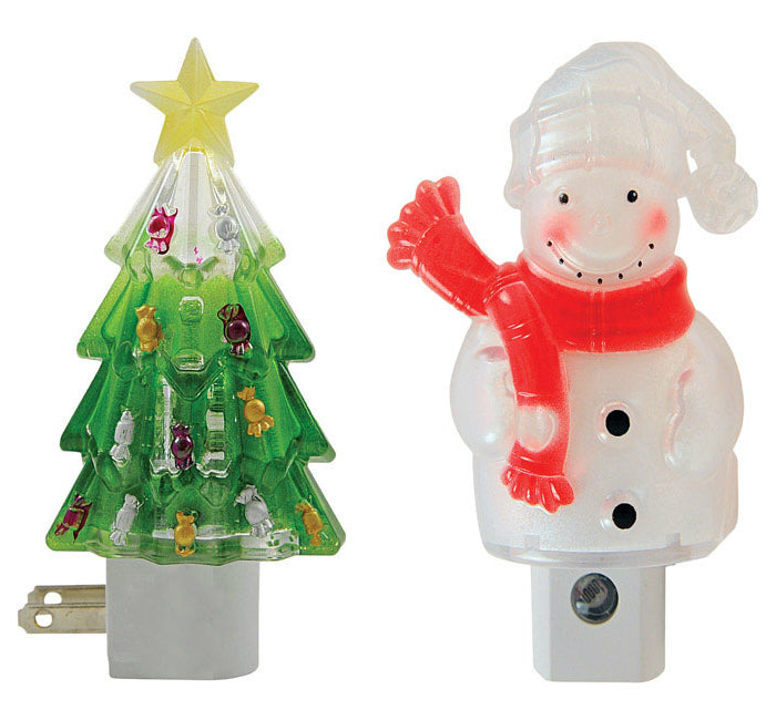 Magic Seasons 702233 Automatic Christmas Night Light