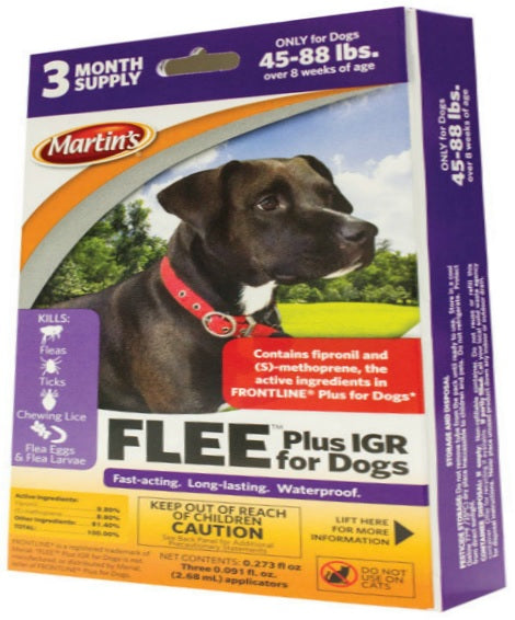 Buy martin's flee plus igr for dogs reviews - Online store for pet care, flea & tick control  in USA, on sale, low price, discount deals, coupon code
