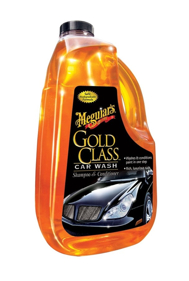 Meguiar's G-7164 Gold Class Car Wash Shampoo & Conditioner, 64 Oz