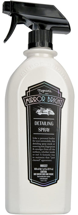 Meguiar's MB0322 Mirror Bright Detailing Spray, 22 Oz