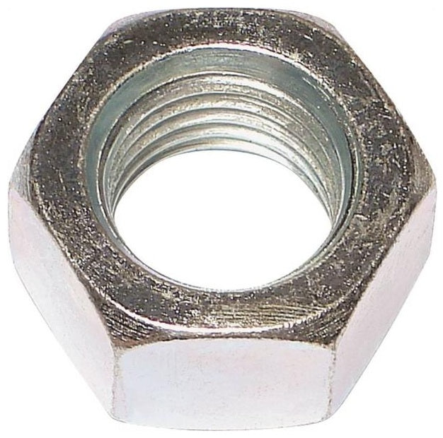 Midwest 03672 Hex Nut, Zinc Plated, 3/8-16