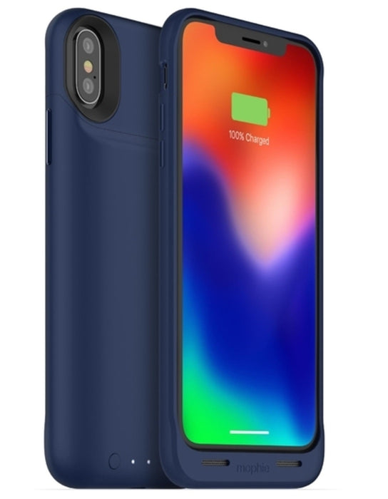 mophie 401002006 Juice Air Battery iPhone X Case, Blue