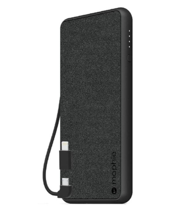 mophie 401101662 PowerStation Plus Portable Charger, 6040 mAh, Black