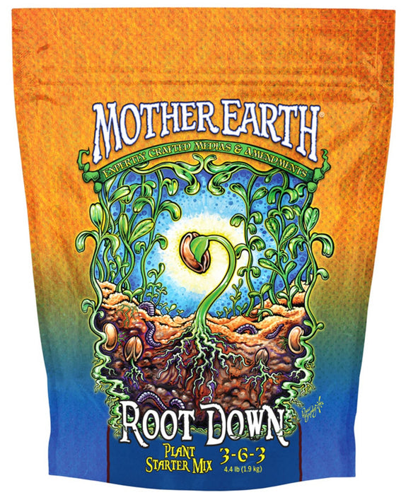 Mother Earth HGC733957 Root Down Planting Mix, 4.4 Lbs
