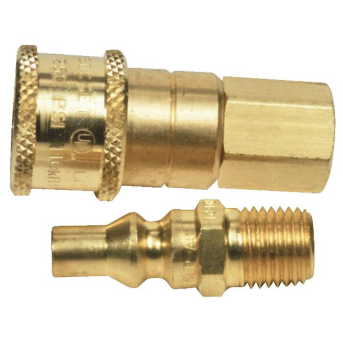 Propane Or Natural Gas Quick Connector Shop Heat
