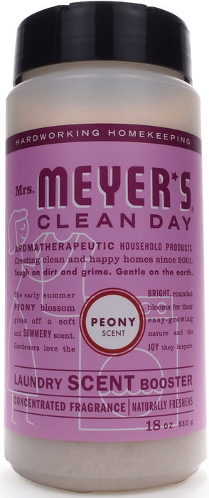 Mrs Meyers Clean Day 70044 Laundry Scent Booster, Peony Scent, 18 oz