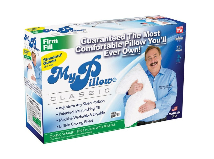 My Pillow 7859-4 As Seen On TV Pillow, White