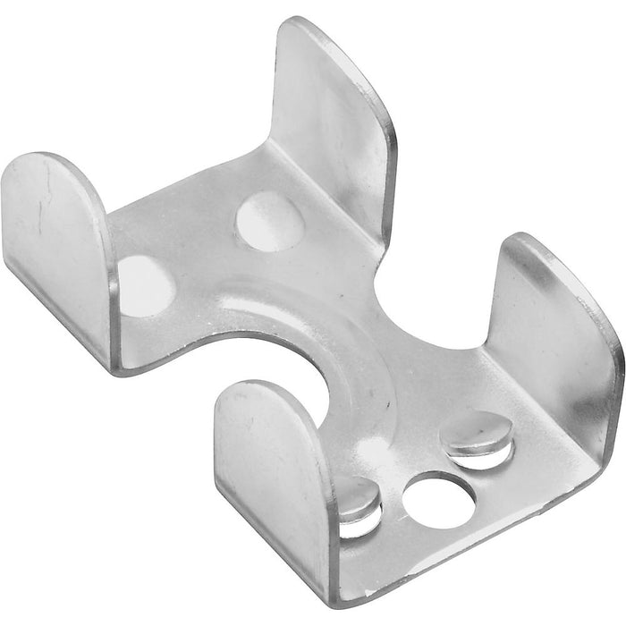 National Hardware N265-876 Steel Rope Clamp in Zinc Plated, 1/4