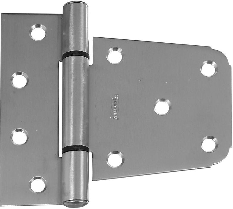 National Hardware N342-543 Extra Heavy Gate Hinge, Stainless Steel, 3-1/2