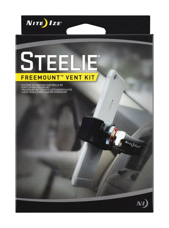 Nite Ize Stfk-01-r8 Steelie Freemount Universal Cell Phone Car Vent Mount