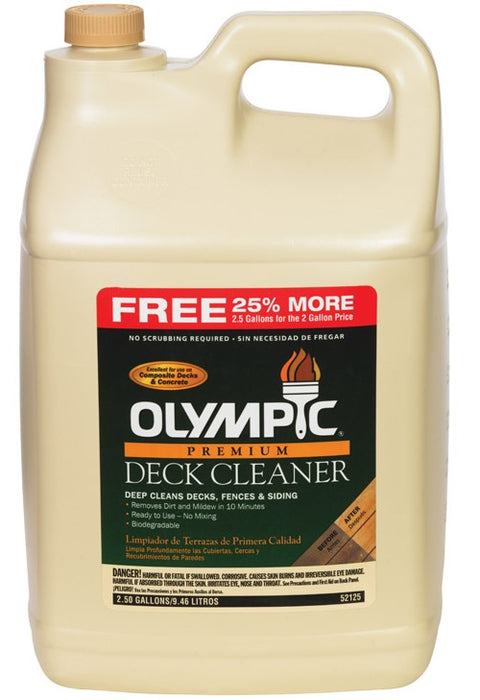 Buy olympic deck cleaner 2.5 gal - Online store for cleaners & washers, deck in USA, on sale, low price, discount deals, coupon code