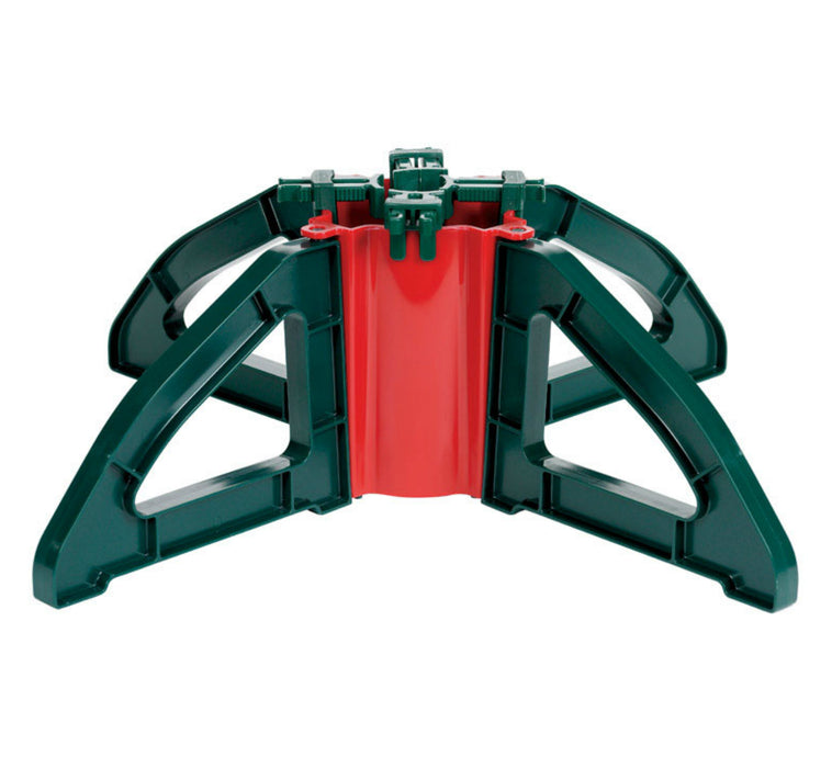 Christmas Tree Stand.Omega Om 1 Christmas Tree Stand Plastic Green Red