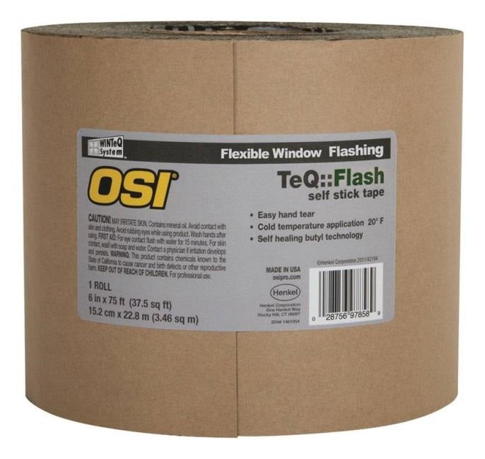 OSI 1866211 Window Flashing Tape, 6
