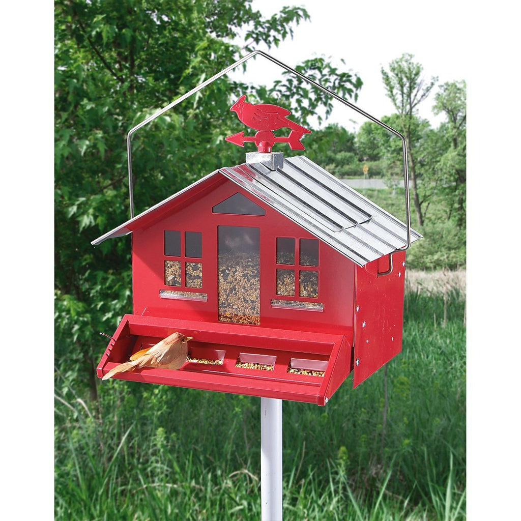 Squirrel Be Gone Ii Country Style Wild Bird Feeder Low