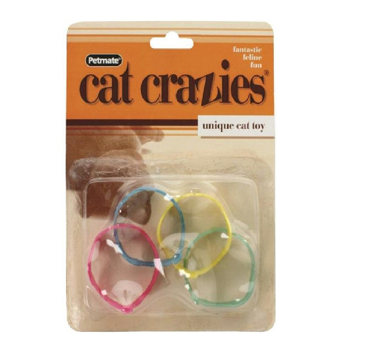 Petmate 26317 Cat Crazies Cat Toy, 4/Pk