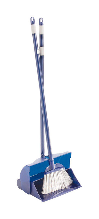 Rubbermaid G148 Plastic Stand-Up Long Handled Broom & Dust Pan Set