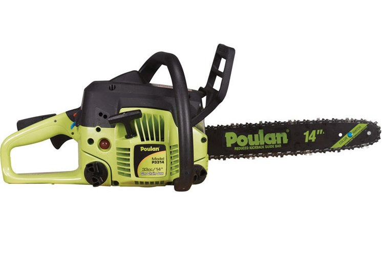 Poulan 967061601 Gas Chainsaw 14 Quot Low Price Best Lawn