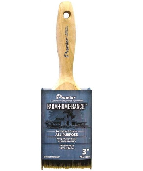 Premier Paint Roller FHR00140 Farm Home Ranch Flat Sash Paint Brush, 3