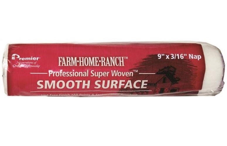 Premier Paint Roller FHR00155 Smooth Surface Roller Cover, 9