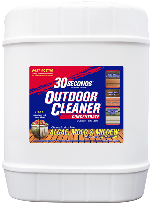 30 Seconds 5G30S Outdoor Cleaner, 5 Gallon