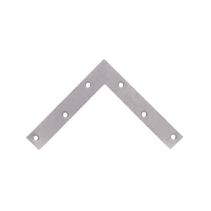 Prosource FC-G06-01PS Flat Corner Brace, Steel, 6