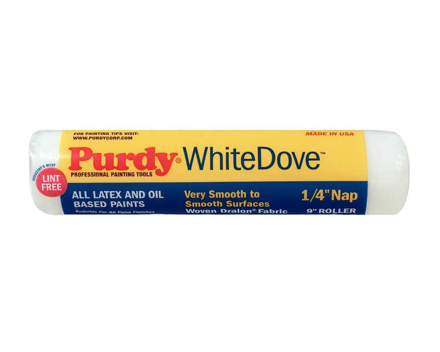 Purdy 140662091 White Dove Smooth Roller Cover, 9