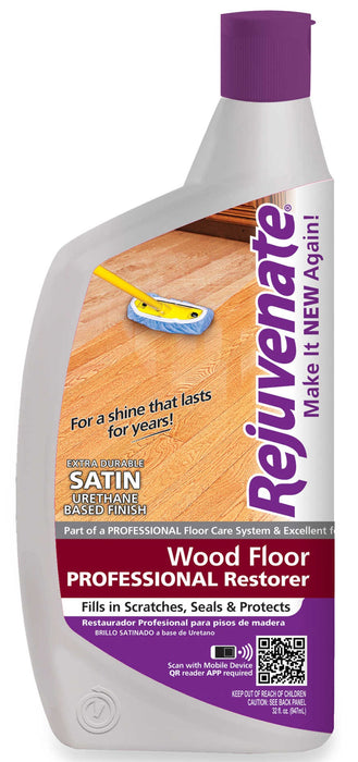 Rejuvenate RJ32PROFS Professional Restorer Wood Floor Restorer, 32 OZ