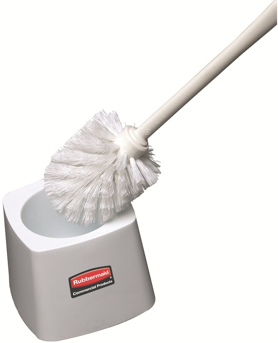 Rubbermaid FG631100WHT Toilet Bowl Brush Holder For 6310 Brush, White