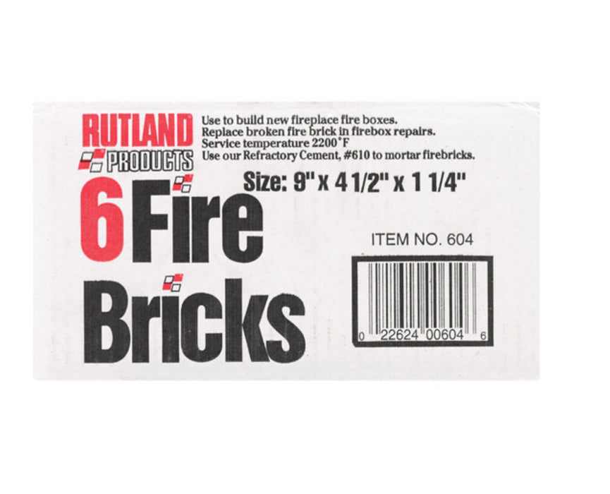 Buy rutland fire brick - Online store for fireplaces & stoves, accessories in USA, on sale, low price, discount deals, coupon code