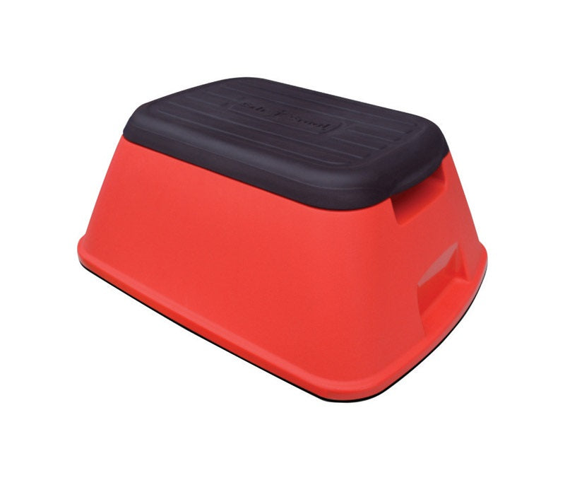 Safe-T-Stool STS-RED-RTL-5 Step Stool, Red, Plastic