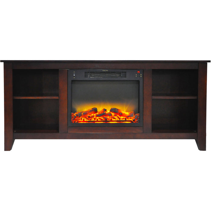 Cambridge CAM6226-1MAHLG2 Santa Monica Fireplace Mantel, Mahogany, 63