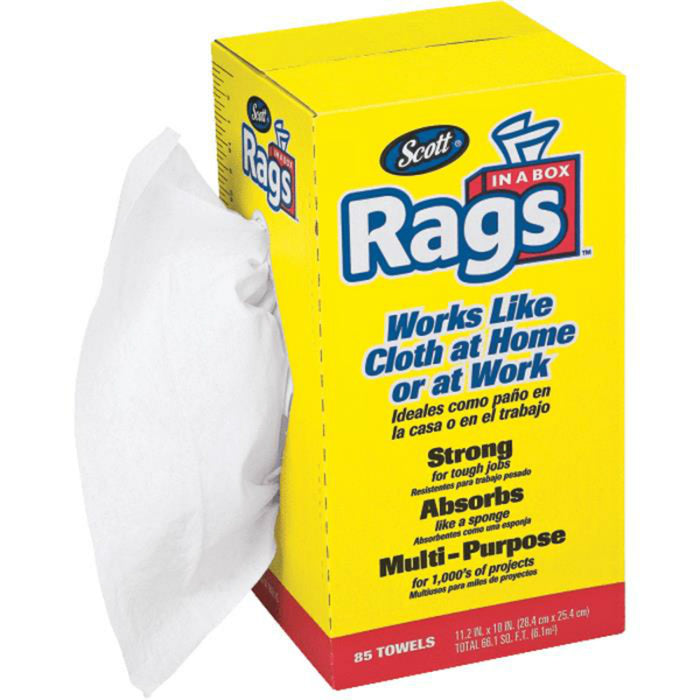 Scott 75240 Rags-In-A-Box, 10