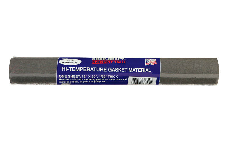 """High Temperature Gasket Material Automotive Replacement Parts 12/"""" X 20/"""" X 1//32/"""""""
