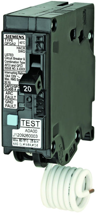 Dual Function Afci  Gfci Circuit Breaker  20 Amp On Sale