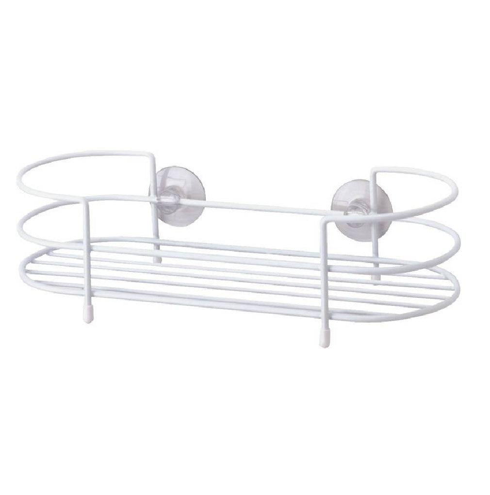 Simple Spaces Ss-sc-29-pe-3l Shower Caddy Tray, White Pe Coated