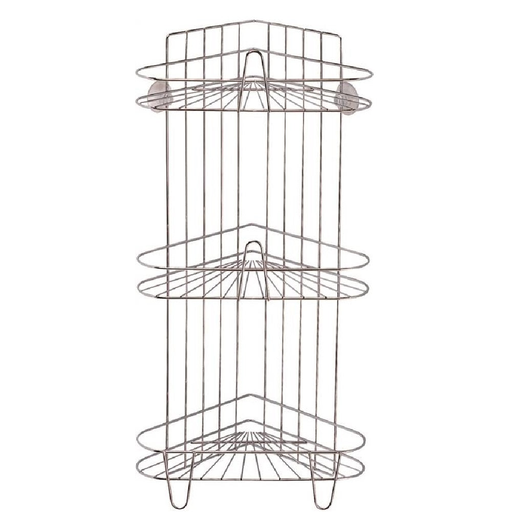 Simple Spaces Ss-sc3-29-ch-3l Shower Caddy, 3-tier, Polished Chrome