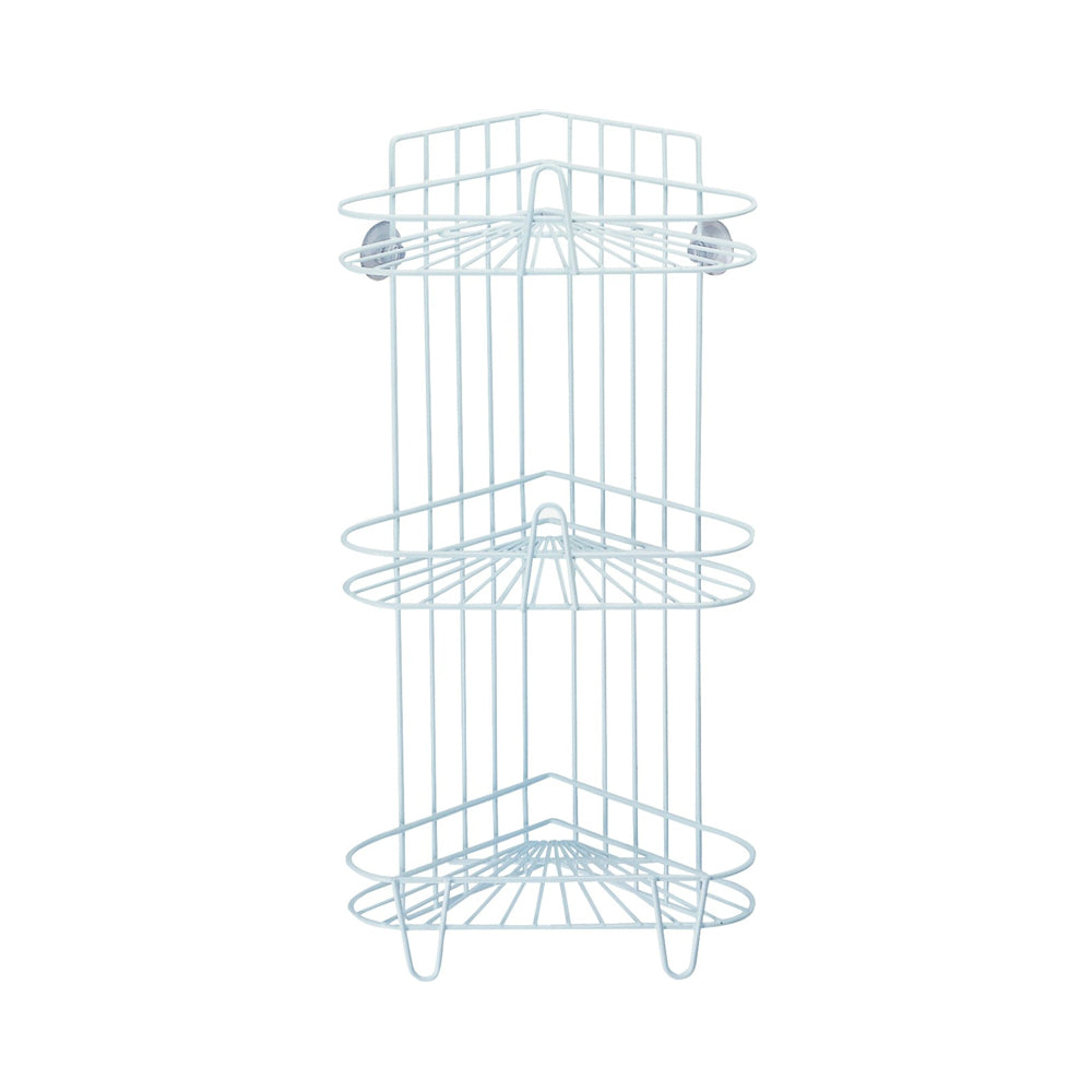 Simple Spaces Ss-sc3-29-pe-3l Shower Caddy, 3 -tier, White