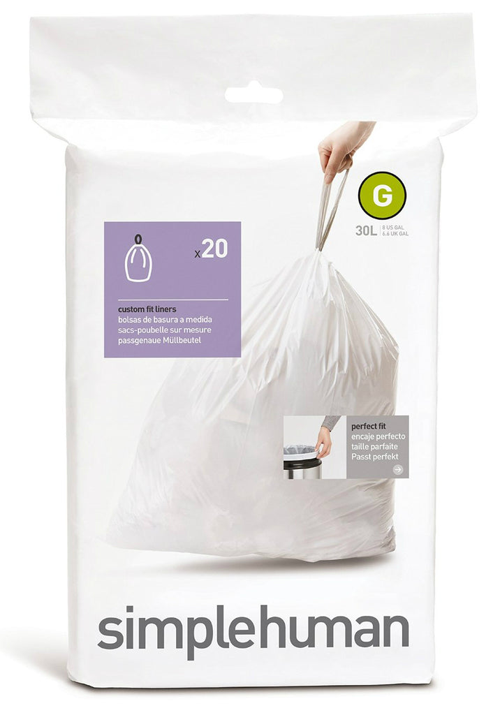 Simplehuman Cw0166 Replacement Trash Can Liners